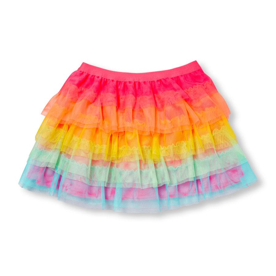 96c51eb936 Toddler Girls Rainbow Tutu Skirt – Angraze